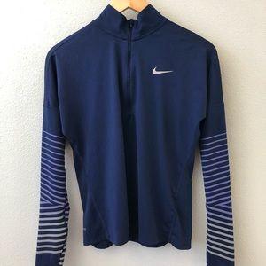 Nike Dri-fit running zip up